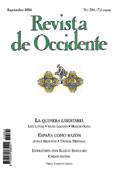 Revista de Occidente 304