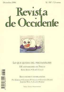 Revista de Occidente 307